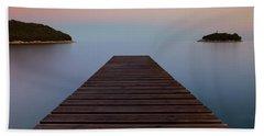 Beach Towel featuring the photograph Zen by Davor Zerjav
