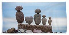 Zen Family Beach Towel