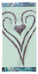 Zen Heart Sedona Labyrinth Beach Towel