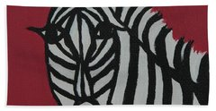 Zena Zebra Beach Sheet