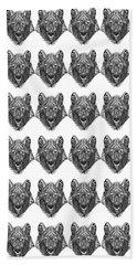 Zendoodle Wolf Beach Sheet