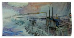 Zeppelin Z59 Beach Towel by Ray Agius