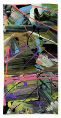 Zero-sum Games Abstract  Beach Towel