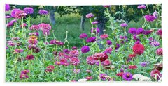 Zinnias Beach Sheet