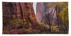 Zion Canyon Beach Sheet