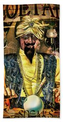 Beach Towel featuring the photograph Zoltar by Chris Lord