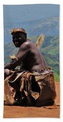 Zulu Warrior Beach Sheet