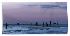 011 - Florida Silhouettes Beach Towel