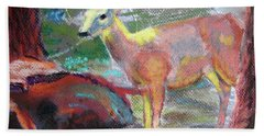 011719 Bambi 's Day Out Beach Towel