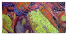 012419, Cajun Mud Bugs Beach Towel