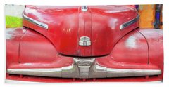 1947 Ford Super Deluxe Coupe 004 Beach Towel