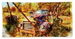 1950 Gmc Truck Beach Sheet