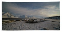Adventfjorden Beach Towel