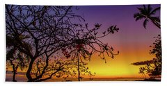 After Sunset Colors Beach Towel