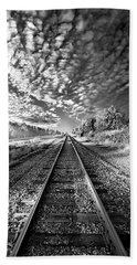 Beach Towel featuring the photograph All The Way Home by Phil Koch