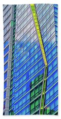 Beach Towel featuring the photograph Architectural Abstract  by Robert FERD Frank