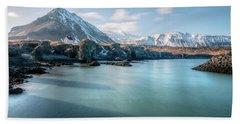 Arnarstapi - Iceland Beach Towel