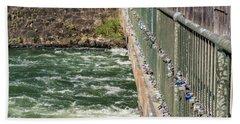 Augusta Canal Headgates - Augusta Ga Beach Towel