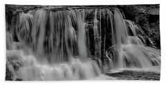 Blackwater Falls Mono 1309 Beach Towel