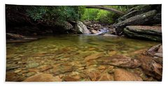 Boone Fork Bridge - Blue Ridge Parkway - North Carolina Beach Towel