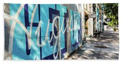 Broad Street Downtown Augusta Ga Beach Sheet