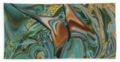 Bronze Butterfly Beach Sheet