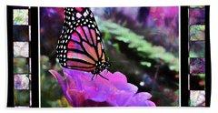 Butterflies Are Free  Beach Towel