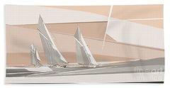 C-class Yachts  Beach Towel