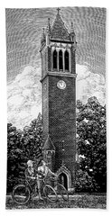 Campanile 1928 Beach Towel