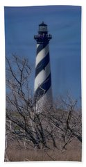 Beach Towel featuring the photograph Cape Hatteras Lighthouse by Pete Federico