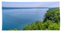 Cayuga Lake Beach Towel