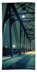 Chicago Railroad Bridge Beach Towel