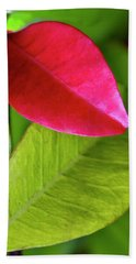 Colours. Red Beach Towel