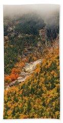 Crawford Notch Fall Foliage Beach Towel