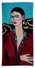 Frida Kahlo. Beach Towel