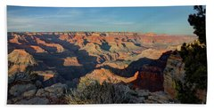 Grand Canyon National Park Spring Sunset Beach Towel