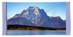 Beach Towel featuring the photograph Hermitage Point by Pete Federico
