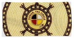 Honor The Circle Beach Sheet