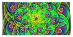 Hypnosis Beach Towel
