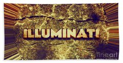 Illuminati Beach Towel