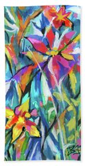 Jungle Garden Beach Towel