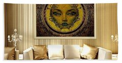 Lady Sanaa Beach Towel