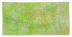 Lime Batik Print Beach Towel