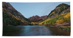 Maroon Bells Beach Sheet