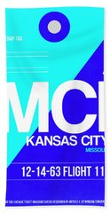 Mci Kansas City Luggage Tag I Beach Towel