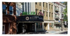 Miller Theater Augusta Ga Beach Towel