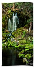 Mossy Falls Beach Towel
