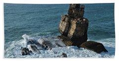 Nau Dos Corvos Beach Towel