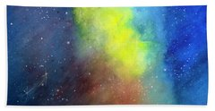 Nebula Creation Beach Towel