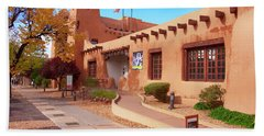 New Mexico Museum Of Art Beach Sheet
